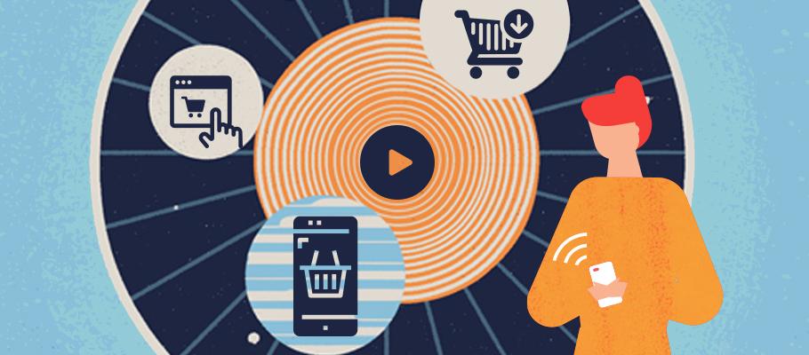 Un plus grand nombre de consommateurs a fait ses achats au moyen d'appareils mobiles